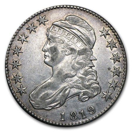 1819 Capped Bust Half Dollar AU