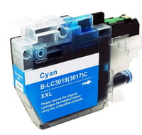 Compatible cartridge for Brother LC3019C - super high yield Cyan