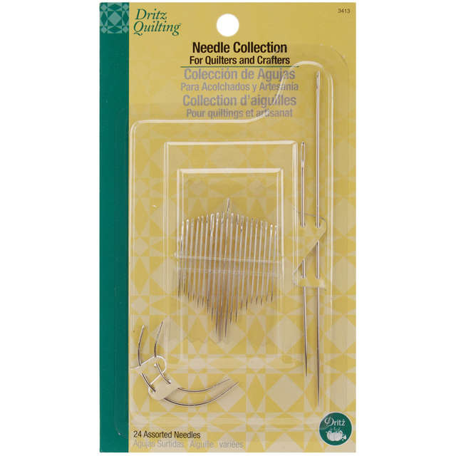 Dritz Quilting Needle Collection-Assorted 24/Pkg