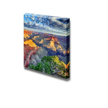 Canvas Prints Wall Art - Morning Light at Grand Canyon, Arizona, USA | Modern Wall Decor/Home Decoration Stretched Gallery Canvas Wrap Giclee Print & Ready to Hang - 24
