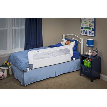Regalo Swing Down Extra Long Bed Safety Rail White