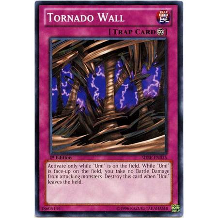 YuGiOh Structure Deck: Realm of the Sea Emperor Tornado Wall SDRE-EN035 (Yu Gi Oh Realm Of The Sea Emperor)