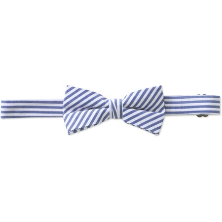 Genevieve Goings Collection Boys Blue Pre-Tied Adjustable Bow Tie