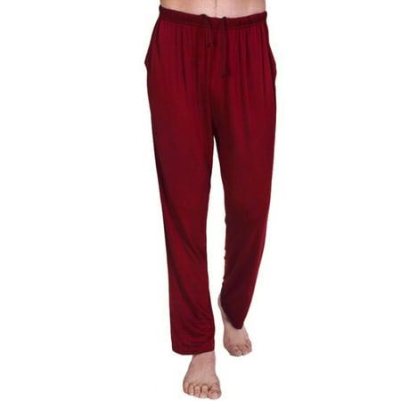 (Ropalia Men Yoga Sports Pants Casual Loose Pajama Trousers Sleepwear Homewear)