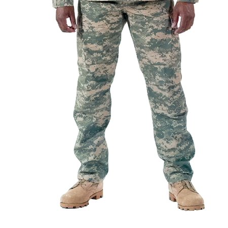 (Army Digital Camo BDU Pants, Military Fatigues, ACU)