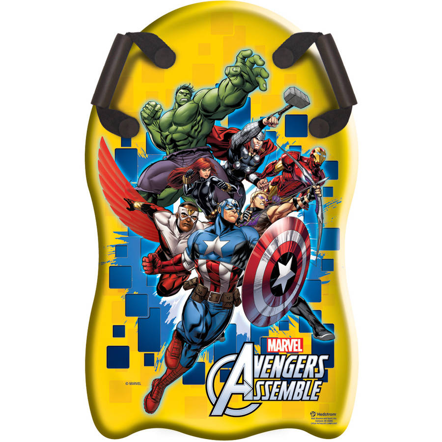 "Avengers Assemble 33"" Shaped Snow Speedster"