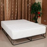 """Ktaxon 8"""" Mattress Medium Memory Foam w / 2""""Cool Memory Foam Top + 2 Pillows Queen"""