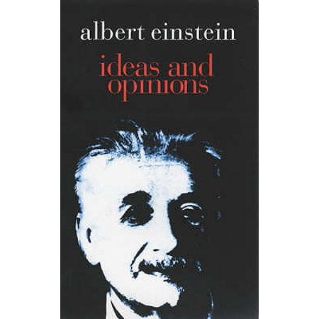 Ideas and Opinions. by Albert Einstein (Albert Einstein Mustache)