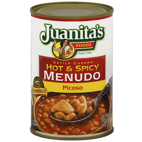 Juanita's Foods Hot & Spicy Menudo, 15 oz (Pack of 12)