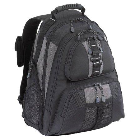 "Targus 15.4"" Sport Standard Computer Backpack (Black/Platinum), TSB212"