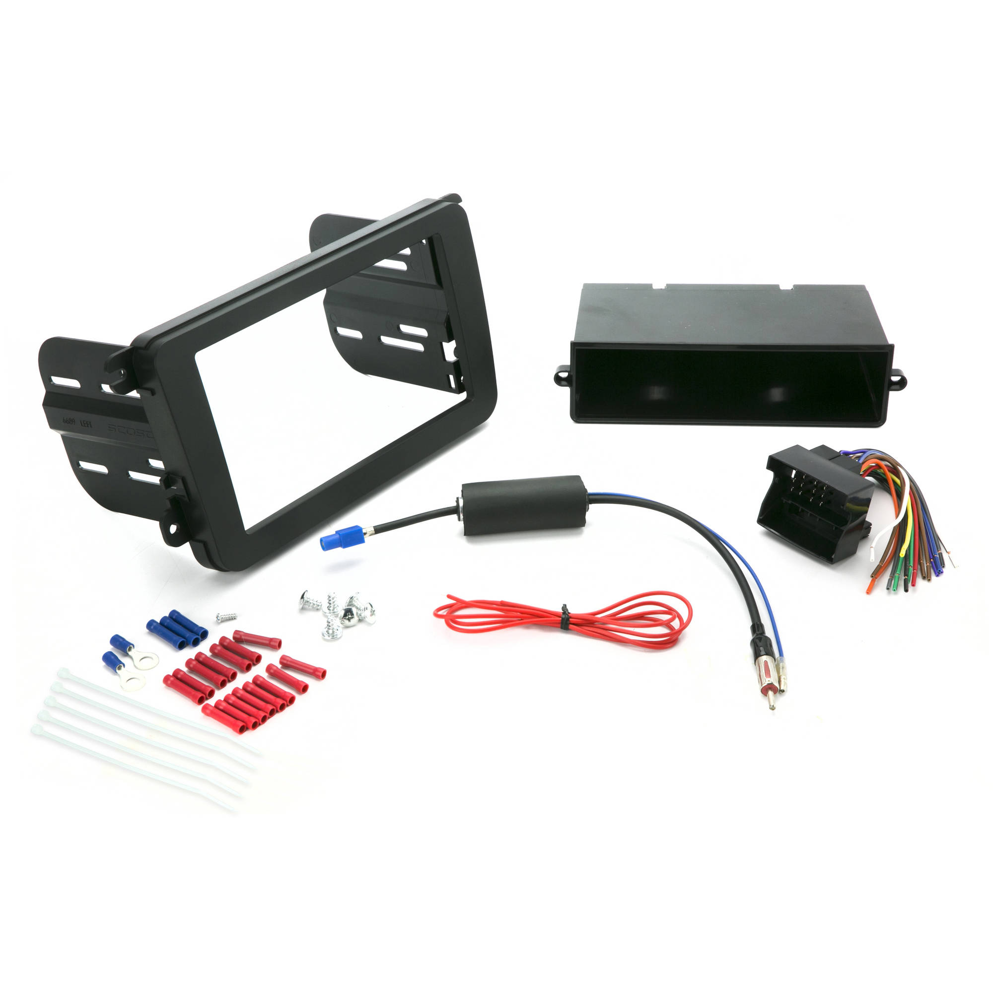 INSTALL CENTRIC ICVW6BN Volkswagen 2006-15 Complete Car Stereo ...