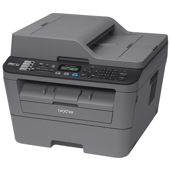 Brother Compact Monochrome All-in-One Laser Printer, MFC
