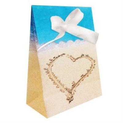 Beach Love Favor Bags , 2PK