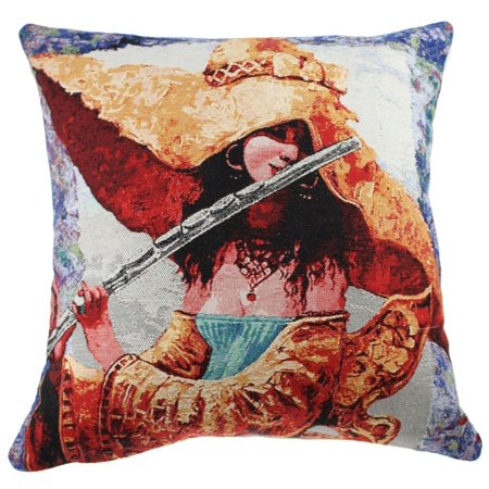 The Melody She Plays III Decorative Pillow Cushion Cover - A - H 16 x W 16 - image 1 de 1