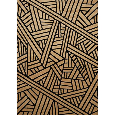 United Weavers 702 34026 912 7 ft. 10 in. x 10 ft. 6 in. Contours Realm Oversize Rug, Beige
