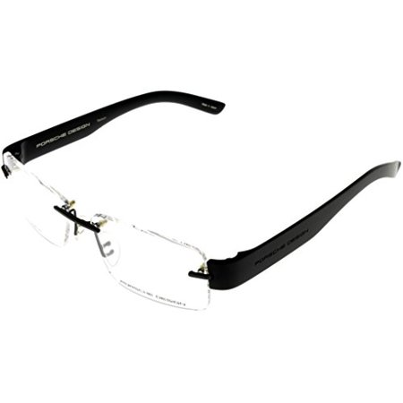 53db3773cb Porsche Design Prescription Eyeglasses Frames Titanium Frames Men P8206 B  53 Rimless Size  Lens  Bridge  Temple  53-14-140 - Walmart.com