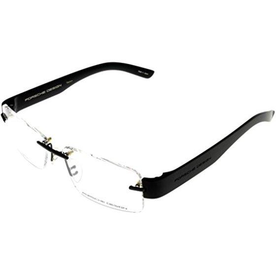 bfcf0cb0c921 Porsche Design Prescription Eyeglasses Frames Titanium Frames Men P8206 B  53 Rimless Size: Lens/ Bridge/ Temple: 53-14-140 - Walmart.com