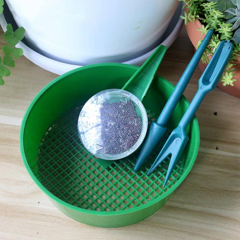 New DIY Garden Planter Tool Kit Drilling Sowing set Bonsai Seeding Planting Gift