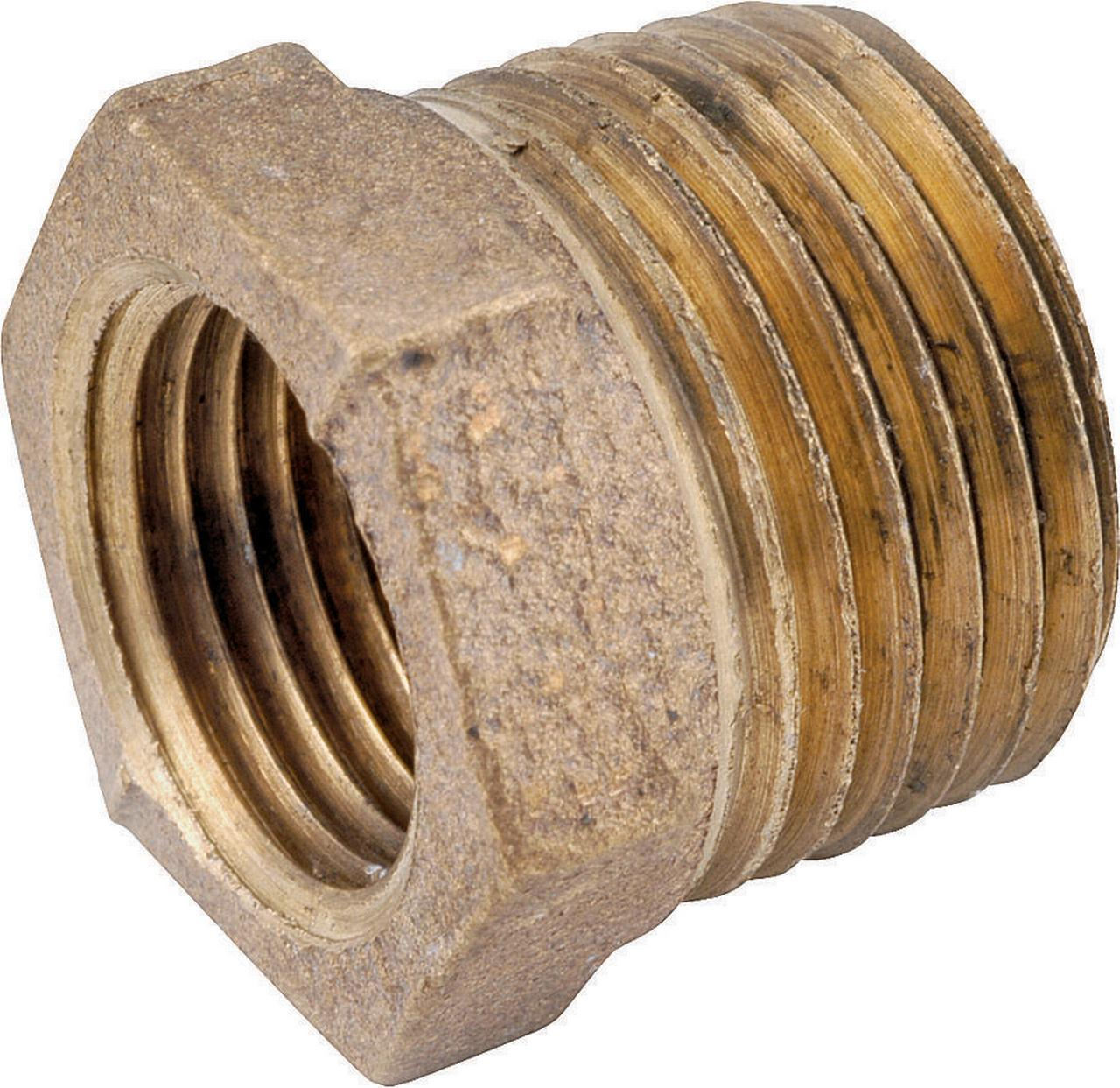 Anderson Metals Corp Inc 3/4x1/4 Brass Bushing 738110-1204