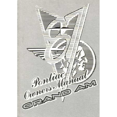 Bishko OEM Maintenance Owner's Manual Bound for Pontiac
