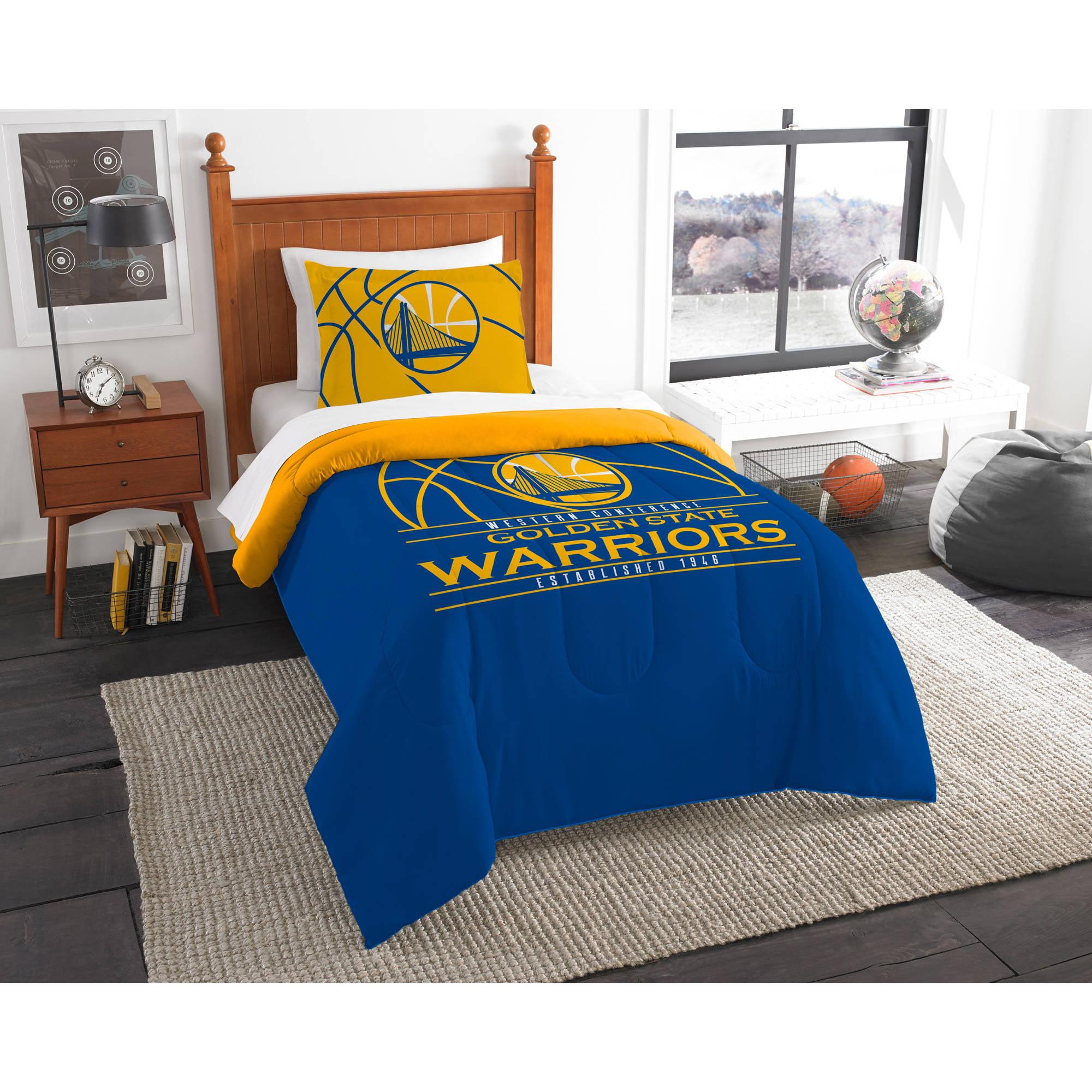 nba golden state warriors quot slam quot bedding comforter set walmart