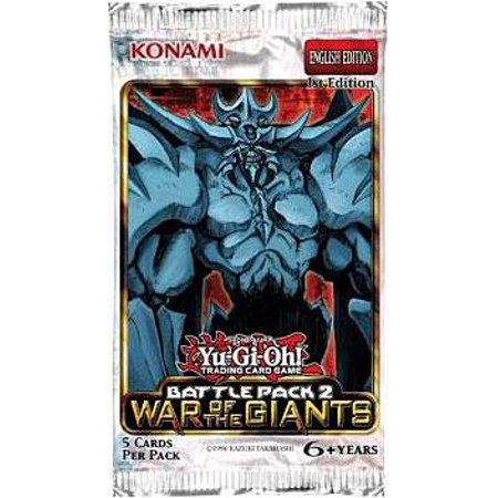 Giants Booster Pack - Yu-Gi-Oh Battle Pack 2: War of the Giants Booster Pack