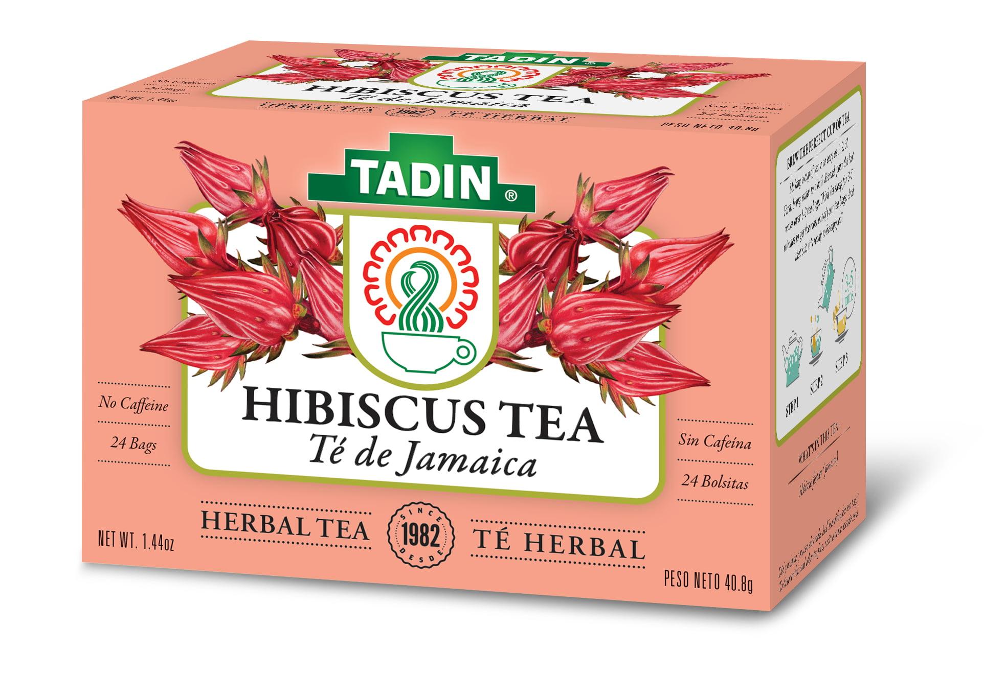 Tadin herb tea co hibiscus herbal tea caffeine free 24 tea bags hibiscus herbal tea caffeine free 24 tea bags walmart izmirmasajfo