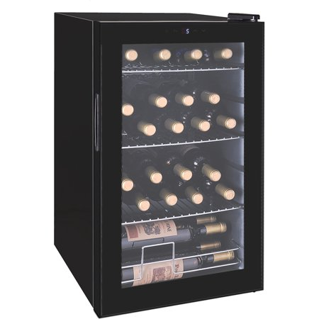 RCA Beverage Center Black - Fits 101 Cans or 24 Wine Bottles RMIS2434