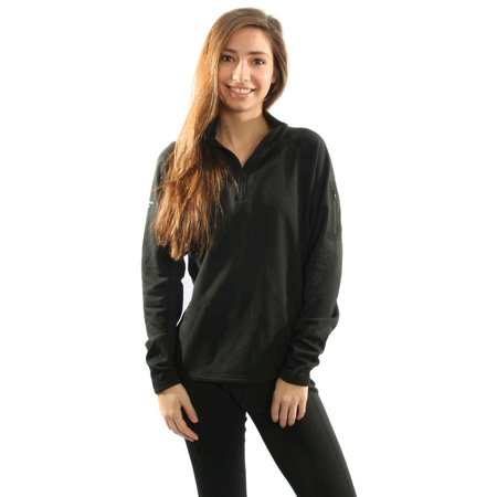 1/4 Zip Thermal (Northern Ridge Womens Thermal Fleece Pullover 1/4)