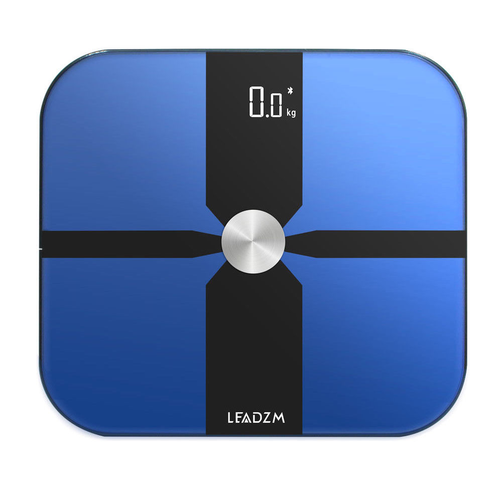 Zimtown Bluetooth Scale Body Weight Fat BMI Bone Analyzer For iOS Android LEADZM US