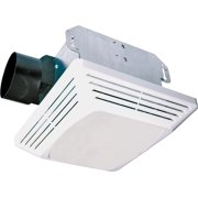 Bathroom exhaust fans with lights for Air king bathroom fan light combo
