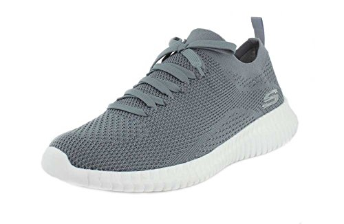 e045cacd6d558 Buy Skechers Mens Elite Flex - Ibache Grey Sneaker - 12 only  89 ...