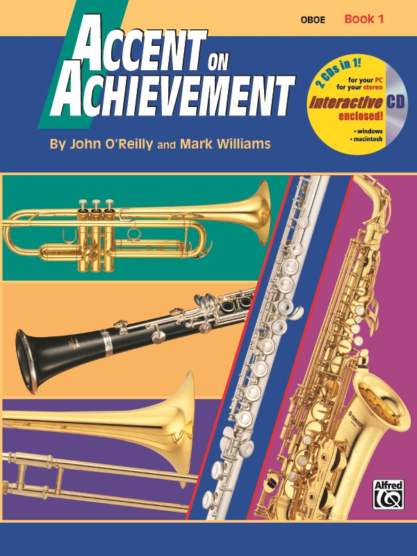 Accent on Achievement, Book 1, Oboe, 17082 by Alfred Publishing