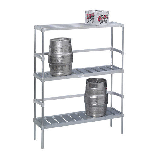 Channel Manufacturing Keg Storage Rack