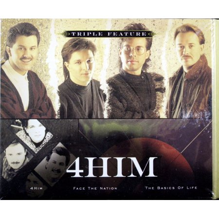 4Hime Triple Feature Set Of 3 Cds   4Him  Face The Nation  The Basics Of Life