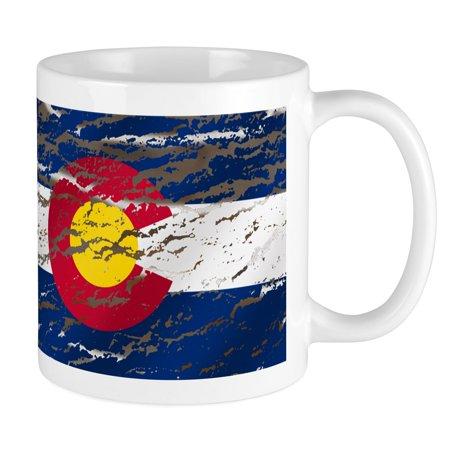 CafePress - Colorado Retro Wash Flag Mug Mugs - Unique Coffee Mug, Coffee Cup