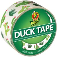 Shurtech PDT-41789 Patterned Duck Tape - Cacti