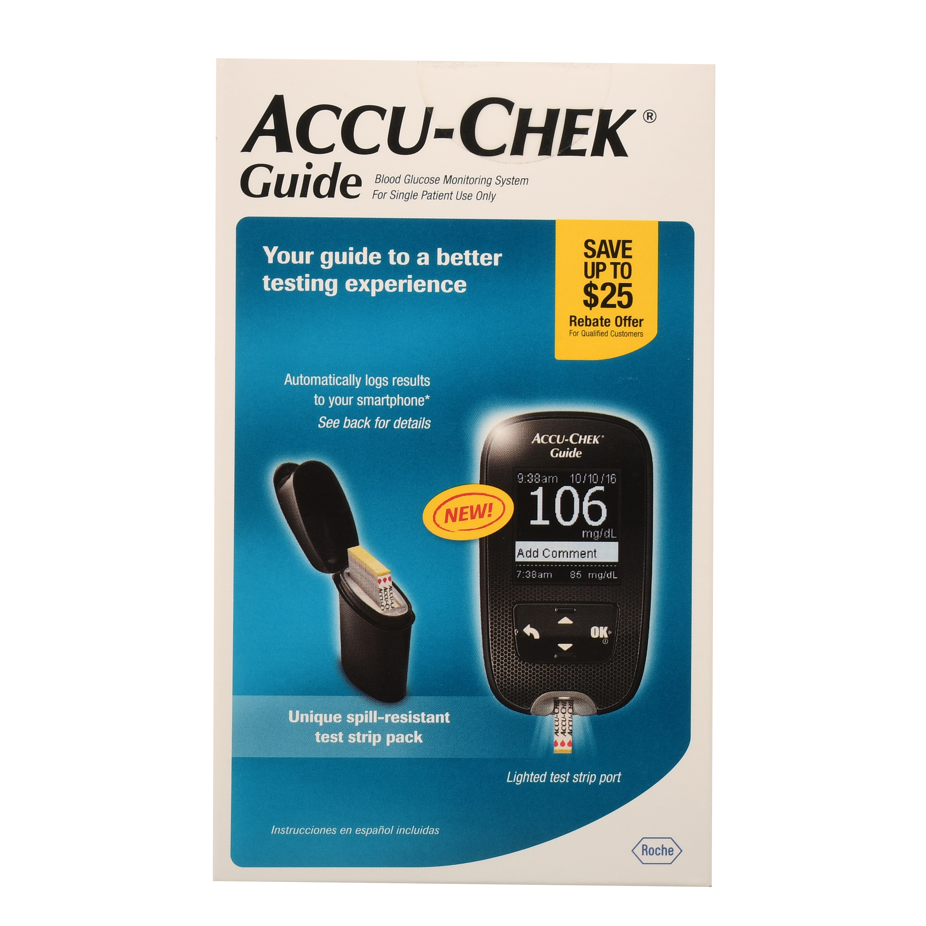 ACCU-CHEK Guide Blood Glucose Monitoring System 1 ea