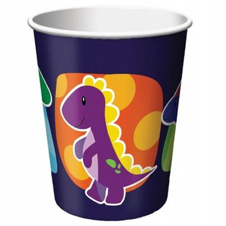 Little Dino Party 9 oz Hot/Cold Cups - 375546 - Little Dino Party Supplies