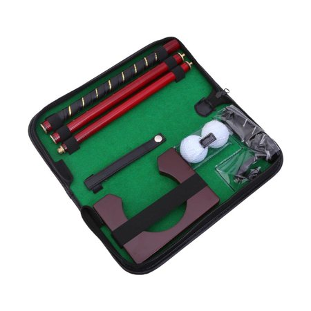 Elegantoss Executive Travel Golf Putter Set Kit Office Golf Putting Gifts