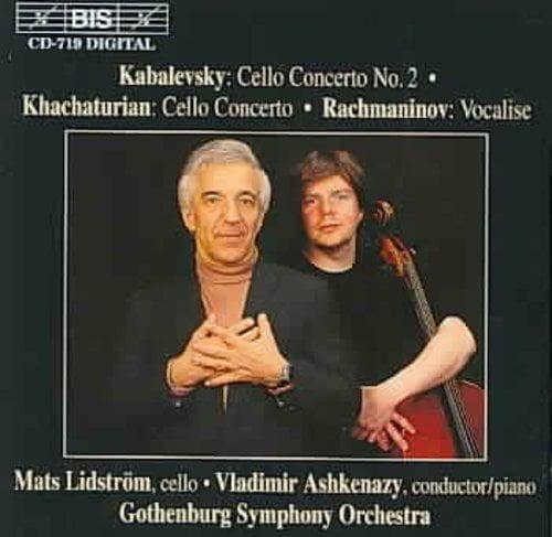 KABALEVSKY: CELLO CONCERTO NO. 2; KHACHATURIAN: CELLO CONCERTO; RACHMANINOV: VOCALISE by