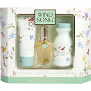 WIND SONG by Prince Matchabelli - COLOGNE SPRAY .55 OZ & BODY LOTION 1.9 OZ & DUSTING POWDER 2.7 OZ - WOMEN