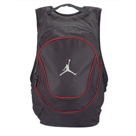 Jordan Air Jumpman Backpack Book Bag Black Red