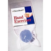 TheraBand Hand Exerciser, Extra Large, Blue, Firm, Intermediate Level 2
