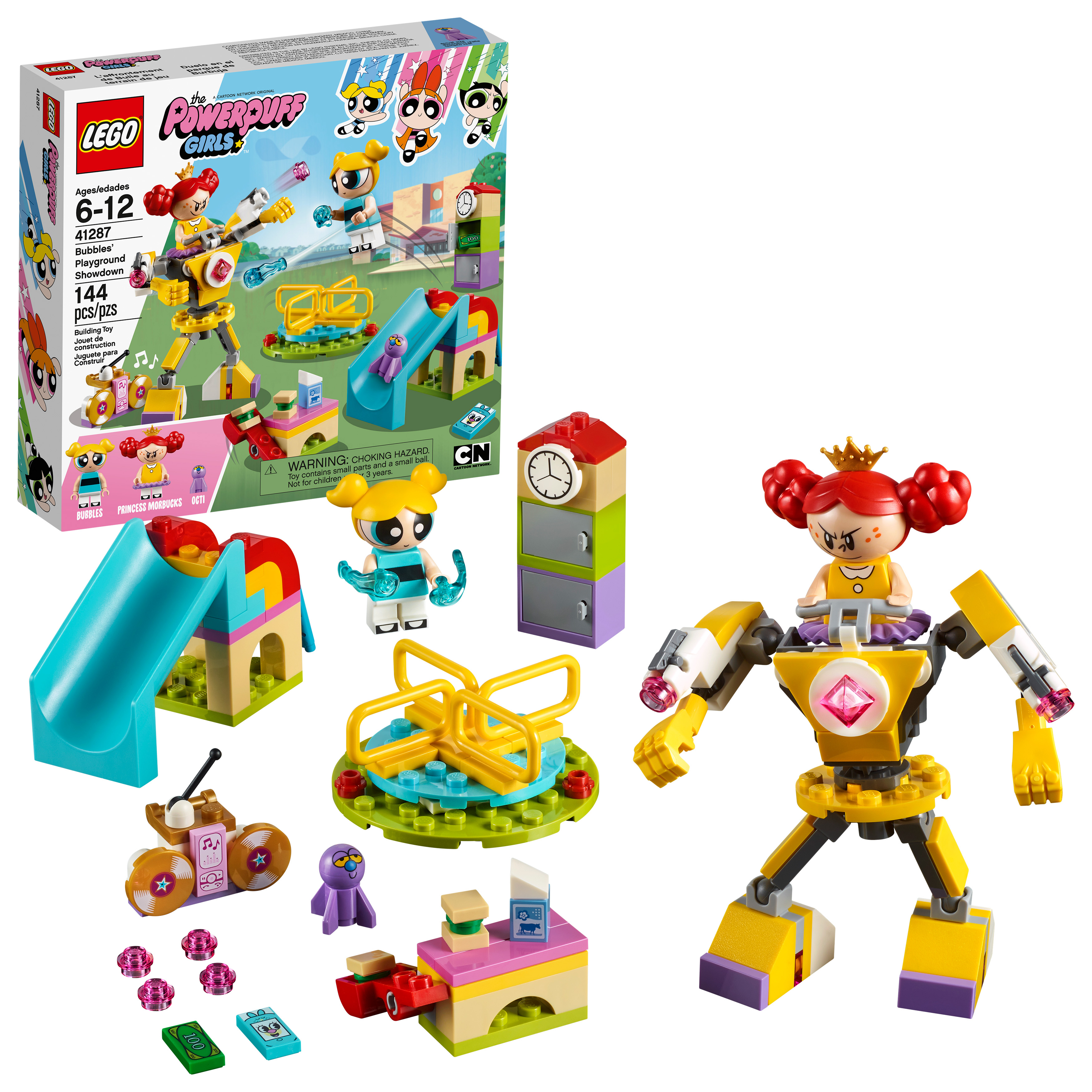 LEGO Powerpuff Girls Bubbles' Playground Showdown 41287