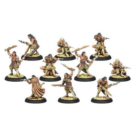 Idrian Skirmishers Ally Unit Protectorate Warmachine Miniatures Game Privateer Press