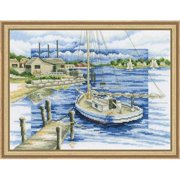 RTO By the Pier Counted Cross-Stitch Kit
