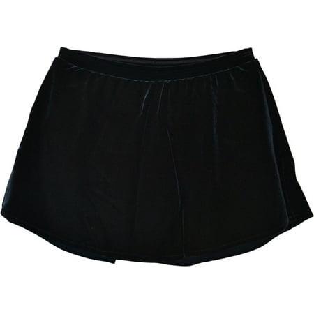 (ChloeNoel K03 Velvet A Line Skirt)