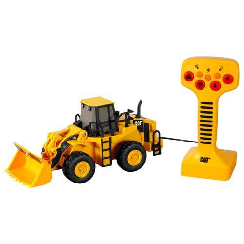 Caterpillar Remote-Control Big Builder Vehicle