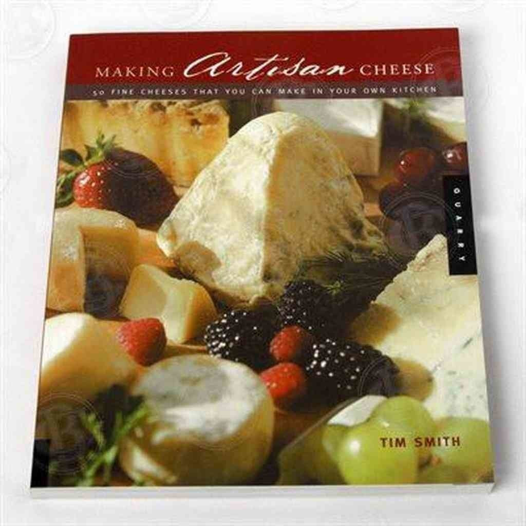 Making Artisan Cheese Book by Tim Smith by